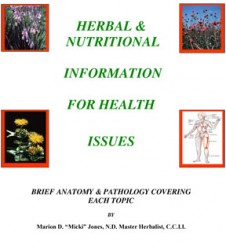 Herbal & Nutritional Information book cover